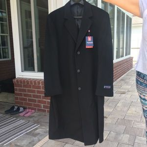 Stafford long trench coat